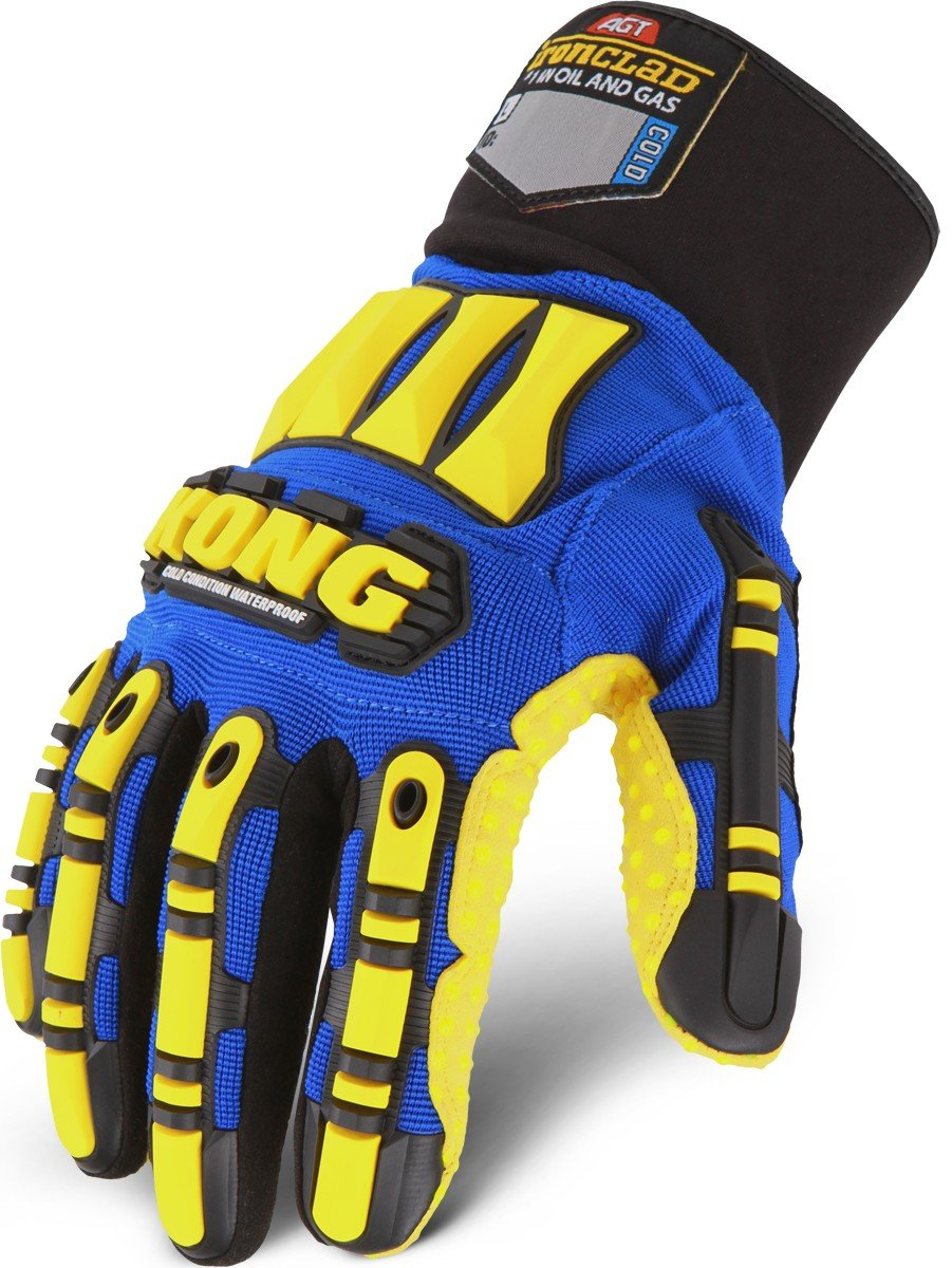 Ironclad Kong SDXW2-06-XXL Cold Condition Waterproof Oil /& Gas Safety Impact Gloves XX-Large