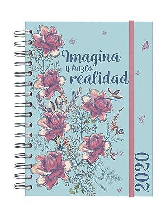 Amazon.com: Finocam – Agenda 2020 1 día página espiral que ...
