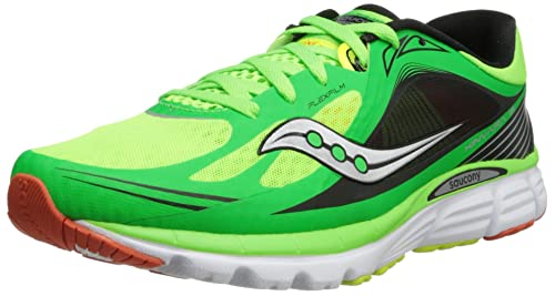 Saucony Kinvara 5 - Zapatillas de running para hombre, Slime/Orange/Citron, 42: Amazon.es: Zapatos y complementos