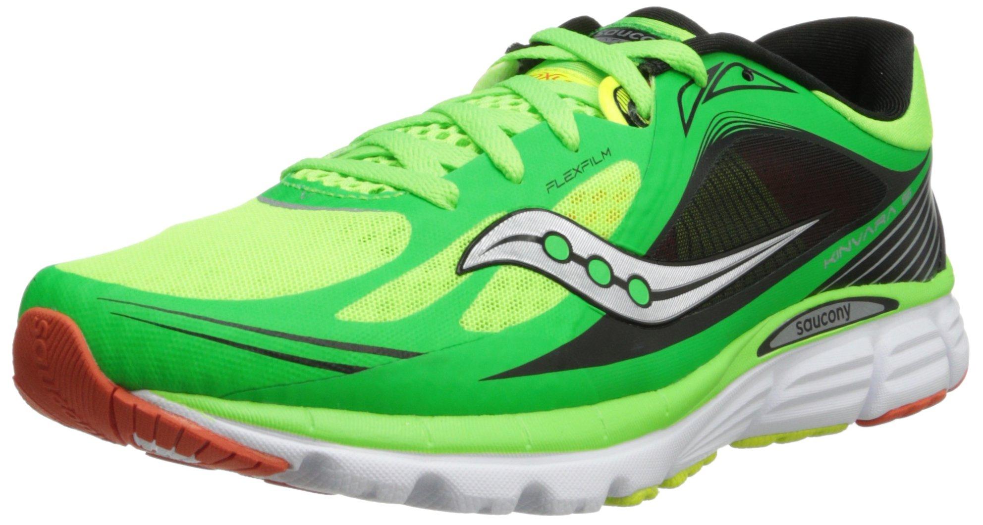 Saucony Men's Kinvara 5 Running Shoe,SlimeOrangeCitron,10 M US