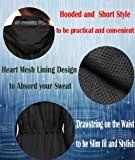 ZHENWEI Rain Jacket Women Hooded Zip Up Athletic