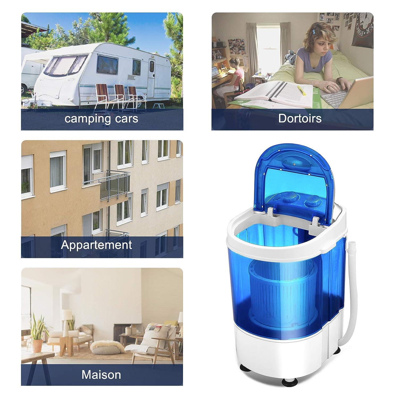 Suncoo - Lavadora portátil, mini lavadora, para lavadora, con ...
