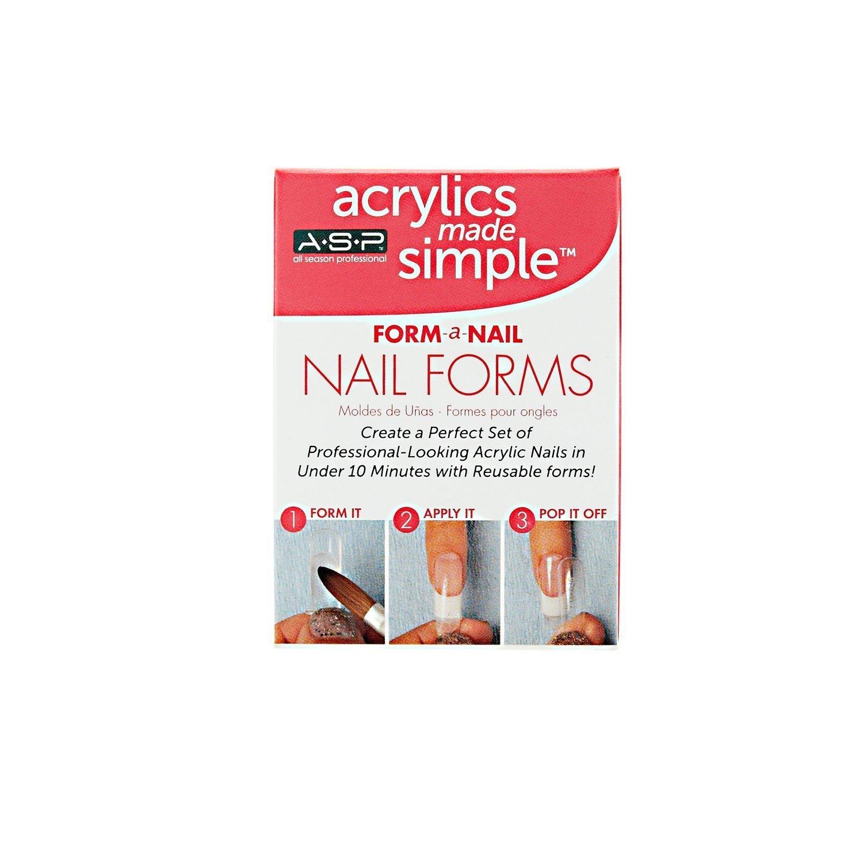 Amazon.com : ASP Form-A-Nail : False Nails : Beauty
