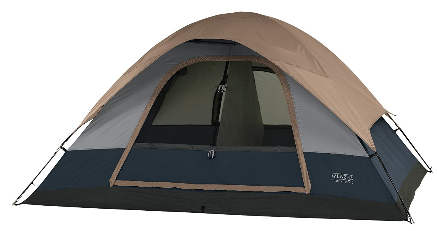 Amazon.com  Wenzel Ponderosa 10- by 8-Foot Four-Person Two-Room Dome Tent  C&ing Tents  Sports u0026 Outdoors  sc 1 st  Amazon.com & Amazon.com : Wenzel Ponderosa 10- by 8-Foot Four-Person Two-Room ...