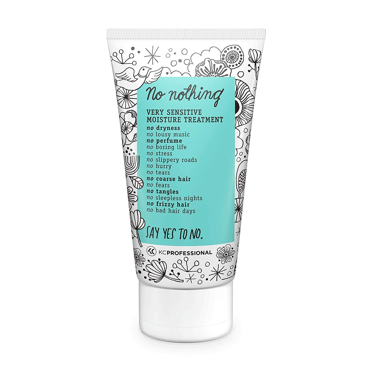 No Nothing Very Sensitive Moisture Treatment - Moisturizing Product for Dry Hair