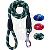 The Pets Company Dog Rope Leash, Suitable for Large and Giant Dogs, Green