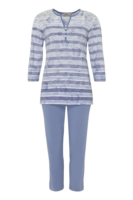dd46a1adf9a96e 50%OFF hajo Damen Schlafanzug, 2tlg. Set, Klima-Komfort, 3/4-Arm, 7 ...