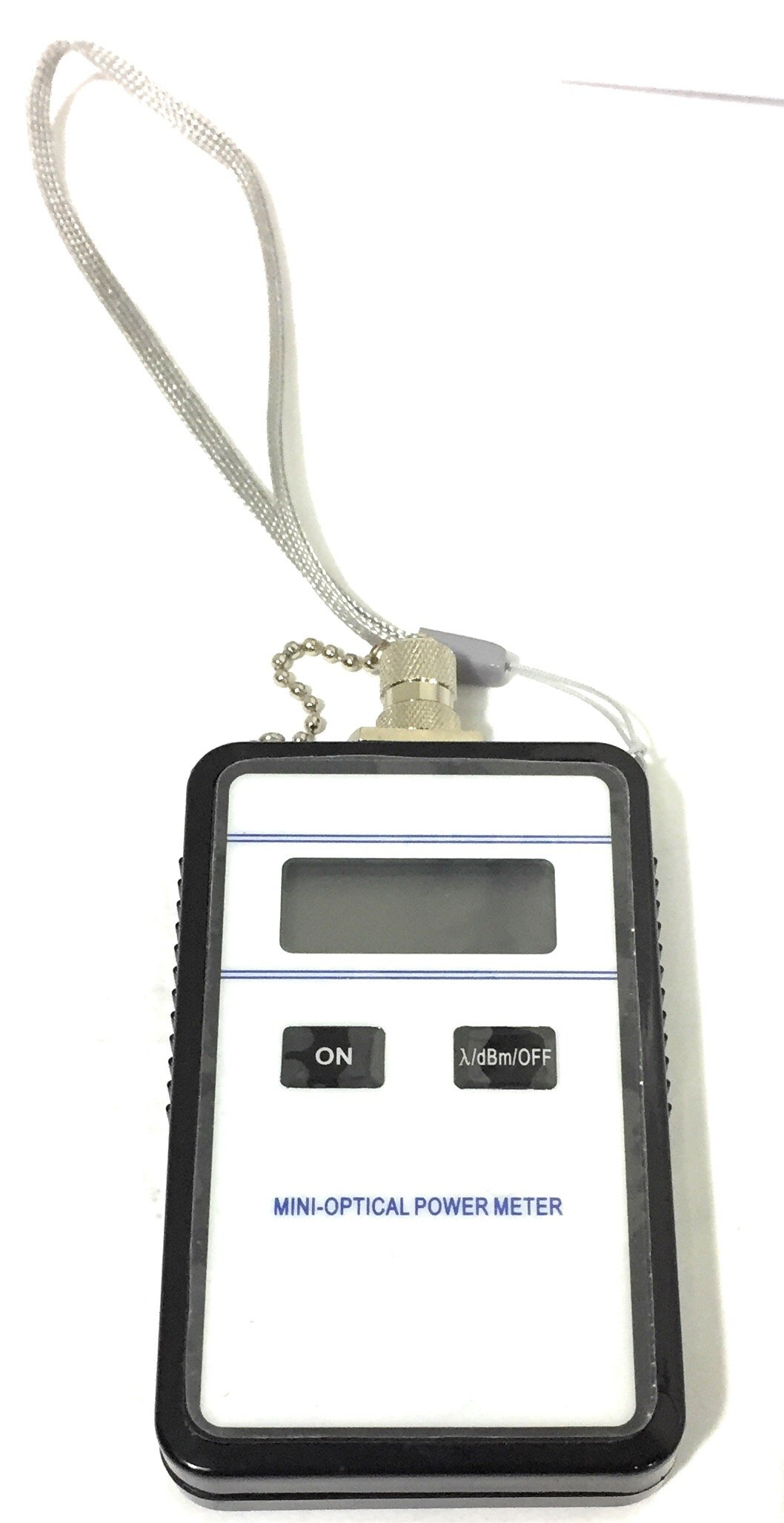 Mini Optical Fiber Optic Power Meter (Model 3205) - Lightweight and Compact - Comes with Protective case and English Instructions