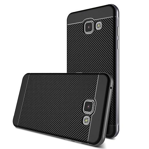 13 opinioni per Custodia Galaxy A7 2016 Cover , ivencase [Stile Anti-Scratch] [Hybrid Silicone +