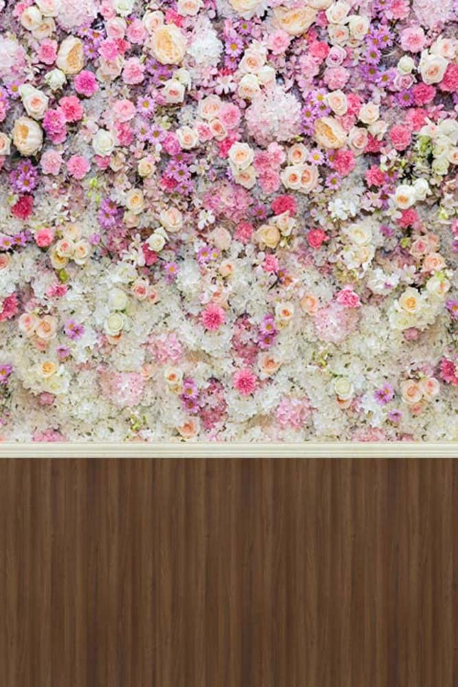 GladsBuy Colorful Flower 8 x 12 Computer Printed Photography Backdrop Flower Theme Background S-1232