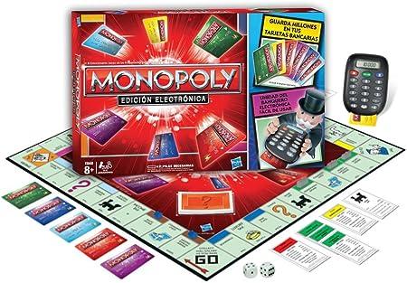 Monopoly Hasbro 37712105 Electronic Banking, Juegos en Familia: Amazon.es: Juguetes y juegos