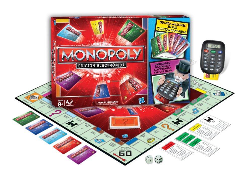 Monopoly Hasbro 37712105 Electronic Banking, Juegos en Familia