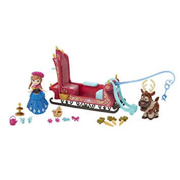 b7b0c5ba45ab7 Amazon.com  Disney Frozen Little Kingdom Frozen Sleigh Ride  Toys ...
