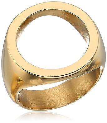 Soko Open Circle Statement Ring Gold 7 tmiaK3f