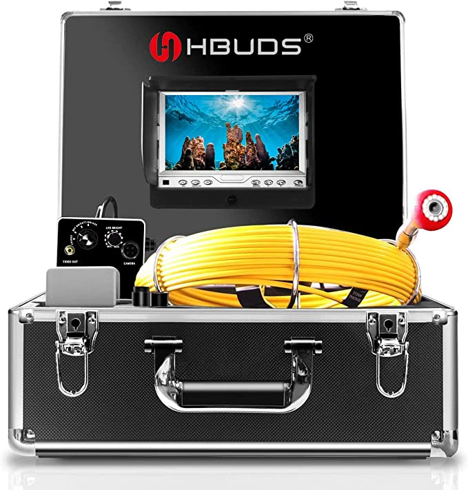 Pipe Pipeline Inspection Camera Control Box Sewer Cameras Kit Replace Use for 7D1 Series from Brand Anysun Aukfa