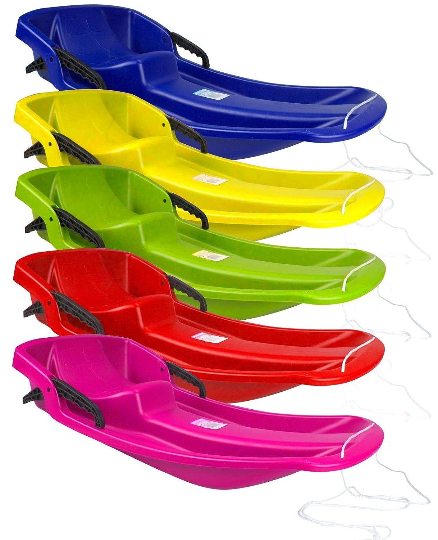 Jaune Sport Otto Luge en Plastique