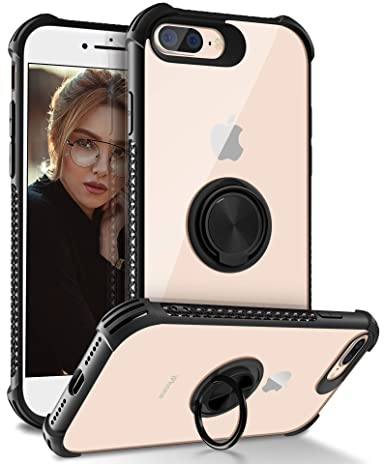 Amazon.com: Funda para iPhone 7 Plus, Daupin transparente ...