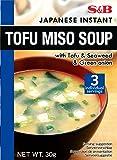 S&B Instant Soy Bean Soup Tofu 30G
