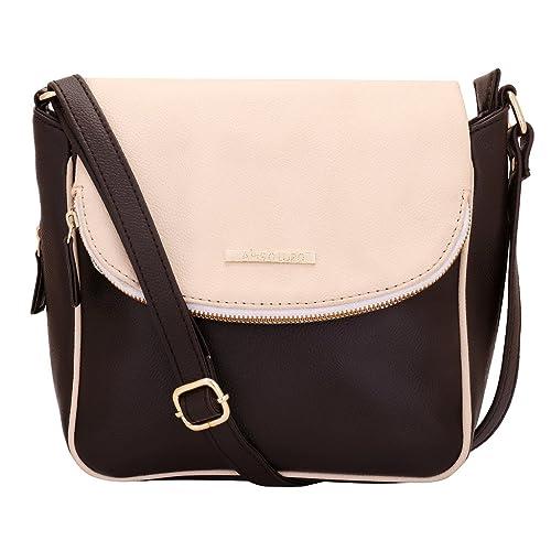 Lapis O Lupo Bianco Sporco Women s Sling Bag (Off white)  Amazon.in  Shoes    Handbags e3b2c2accb7ea