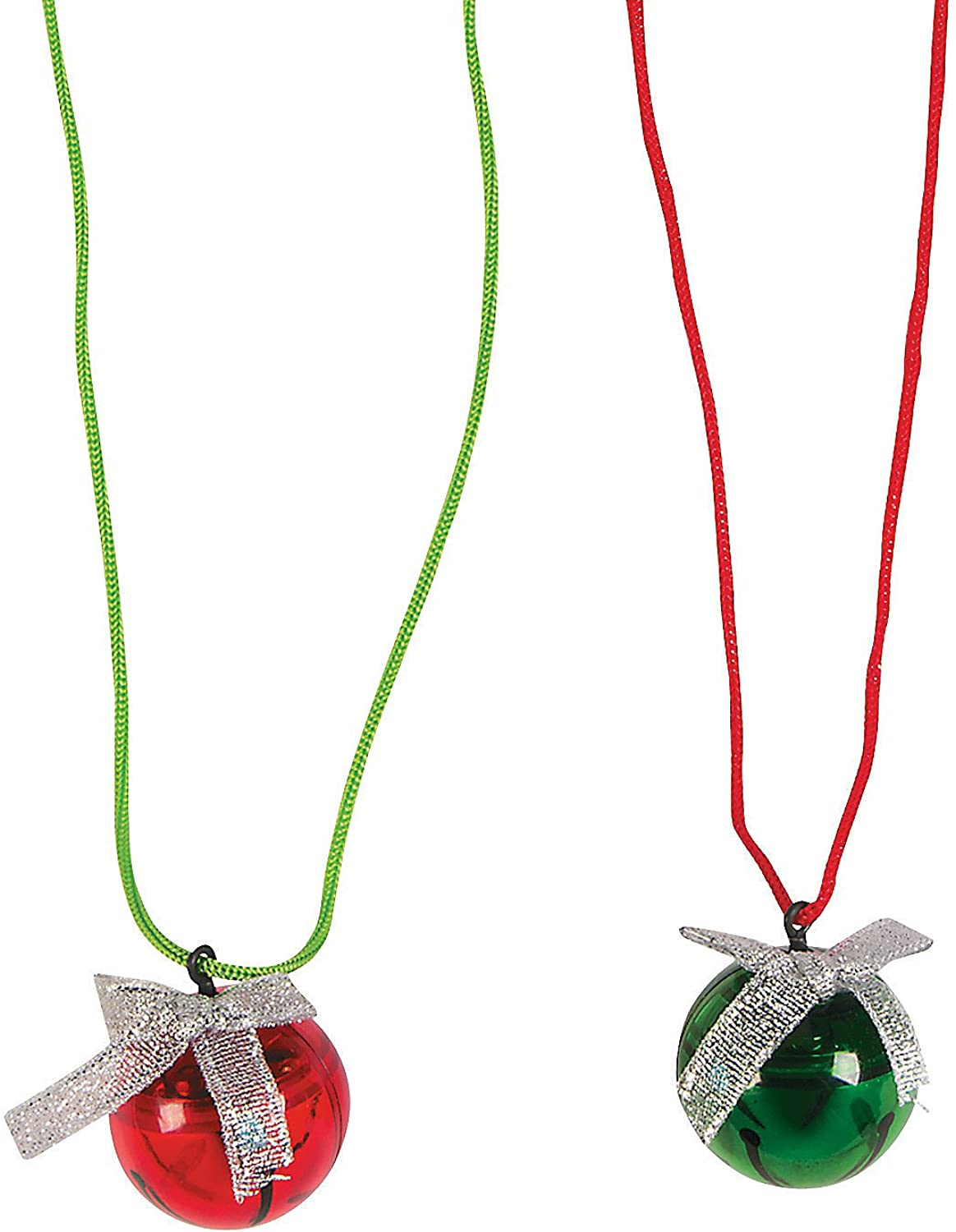 Jingle Bell Red Necklace
