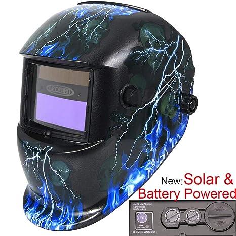 Leopard LEO-WH86 Funciona con Energía Solar + Oscurecimiento Automático + Función De Rectificado +