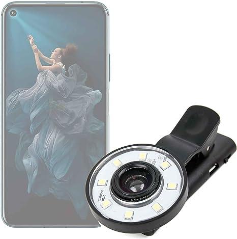 DURAGADGET Flash Selfie para Smartphone Honor 20, Honor 20 Lite ...