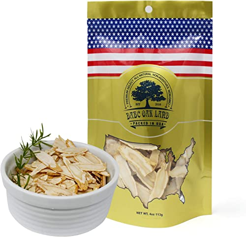 DOL American Ginseng Slice 4oz Bag from Wisconsin Sliced Ginseng Root 113g Bag