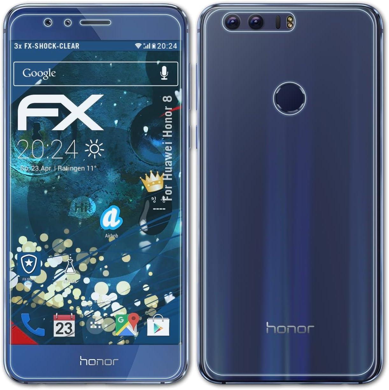 atFoliX Antichoque Película Protectora Compatible con Huawei Honor ...