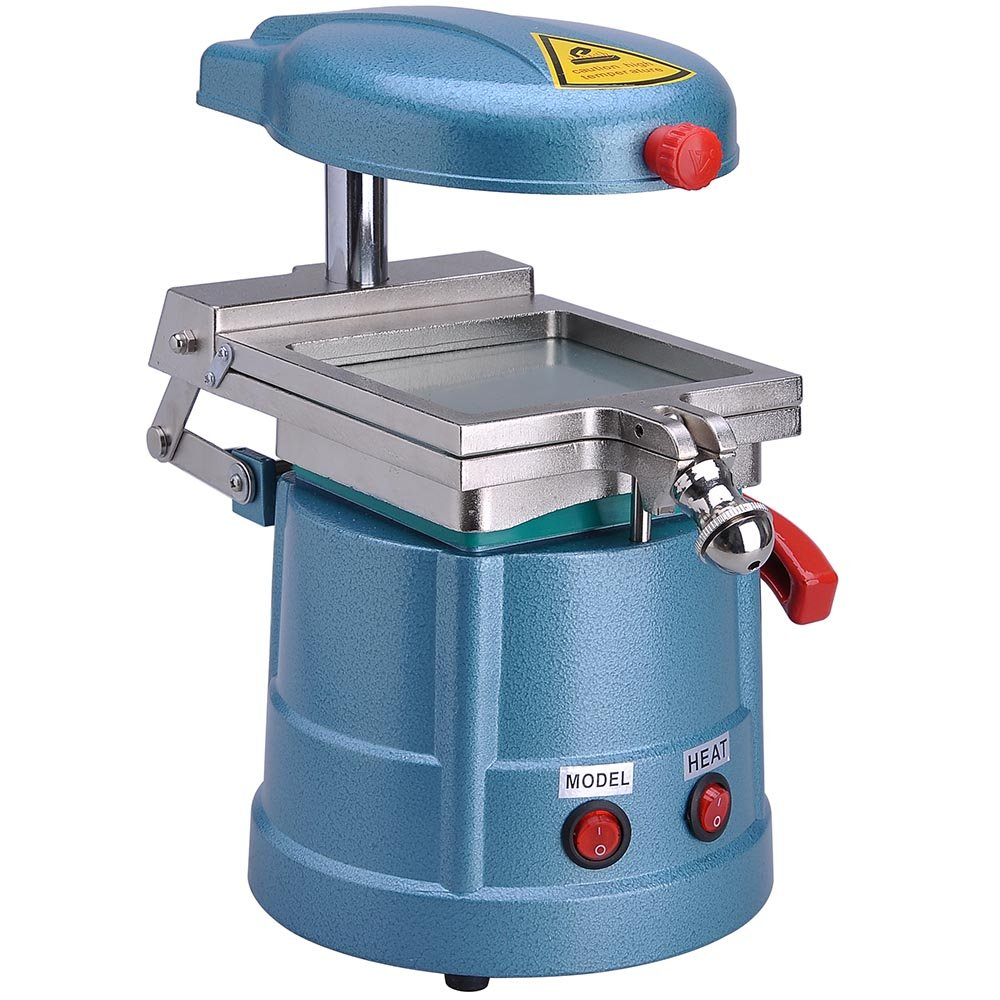 AW Pro 1000W Dental Vacuum Forming Machine w/Steel Balls Portable Laboratory Power Former Heat Molding Tool