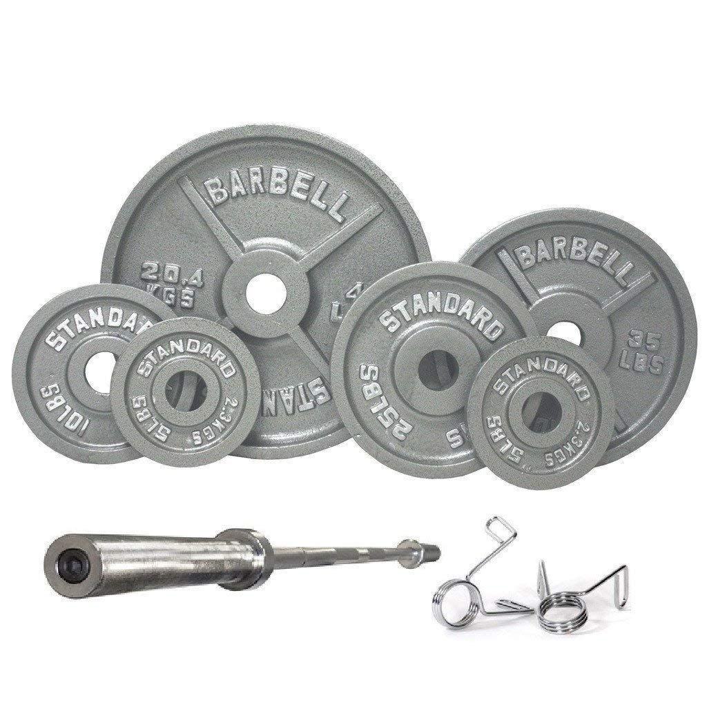 Serious Steel Fitness USA Sports 300LB Olympic Weight Set (OSS-300)