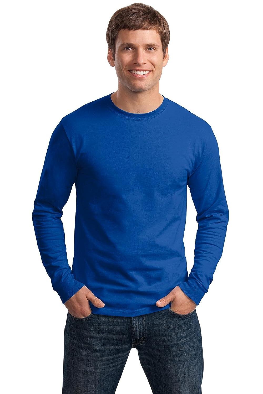 By Hanes Adult 61 Oz Tagless Long-Sleeve T-Shirt 3XL - Deep Royal Style # 5586 - Original Label