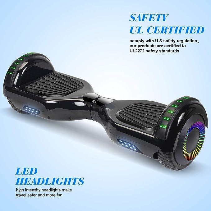Amazon.com: Sweetbuy Hoverboard UL 2272 - Scooter de balance ...