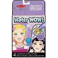 Melissa & Doug Water Wow!® Libro con Dibujos para Colorear con Agua - Maquillaje y Manicura