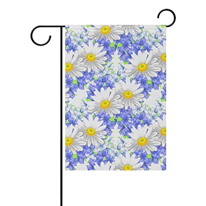Amazon com : ClustersN Floral Background Double-Sided