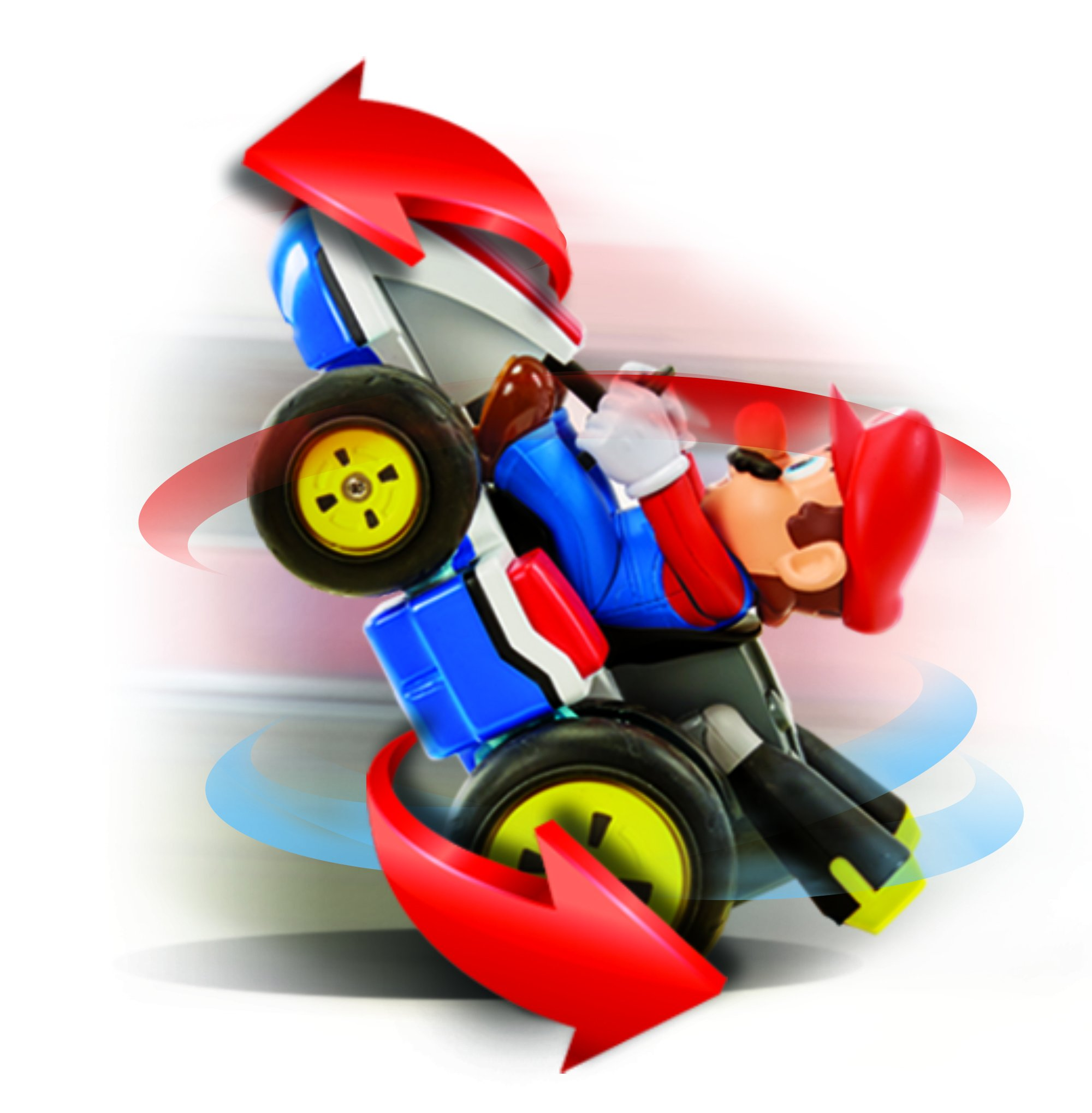 NINTENDO Super Mario Kart 8 Mario Anti-Gravity Mini RC Racer 2.4Ghz by Nintendo (Image #4)