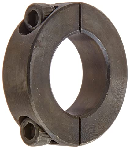 1-15//16 Bore Size Climax Metal 2C-193 Steel Two-Piece Clamping Collar Black Oxide Plating With 5//16-24 x 1 Set Screw 3 OD