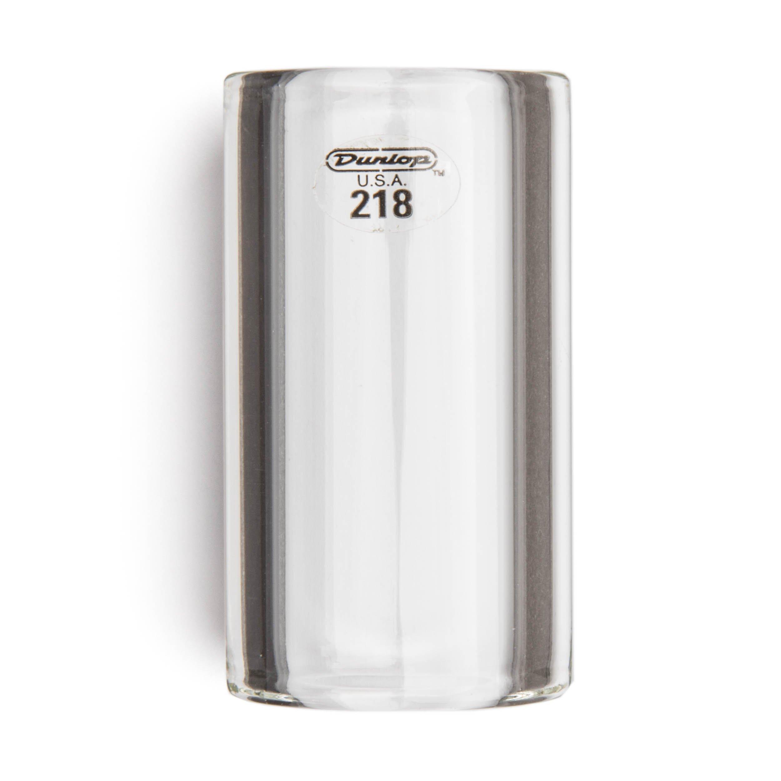 Dunlop 218 Tempered Glass Slide, Heavy Wall Thickness, Medium/Short