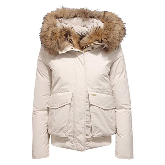 Woolrich 7397X Giubbotto Donna Bomber Military Parka White Jacket Woman [XS]: Amazon.es: Ropa y accesorios