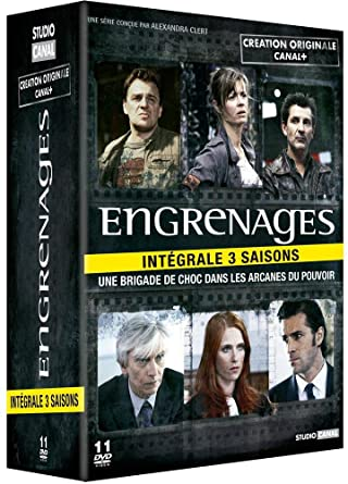 Engrenages, saisons 1 à 3: DVD & Blu-ray : Amazon fr