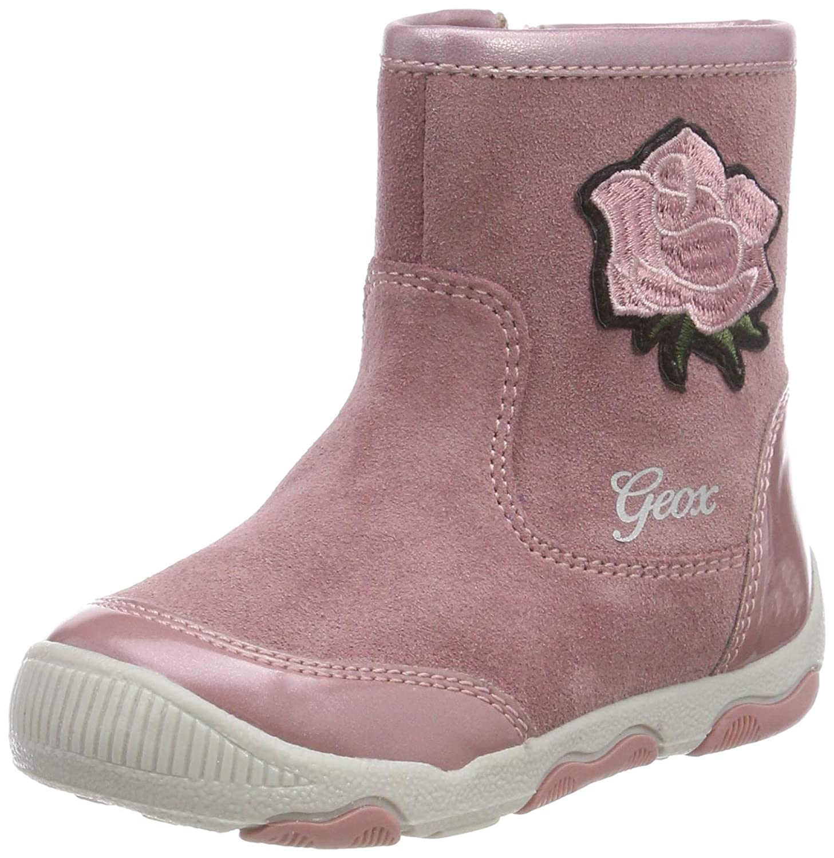 Geox B New Balu' Girl E, Botas para Bebés Geox B New Balu' Girl E B840QE022HI