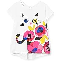Tuc Tuc Camiseta Punto Gatito NIÑA Rosa Cat