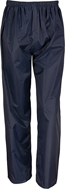 Navy Blue Size Medium M Waterproof Over Trousers