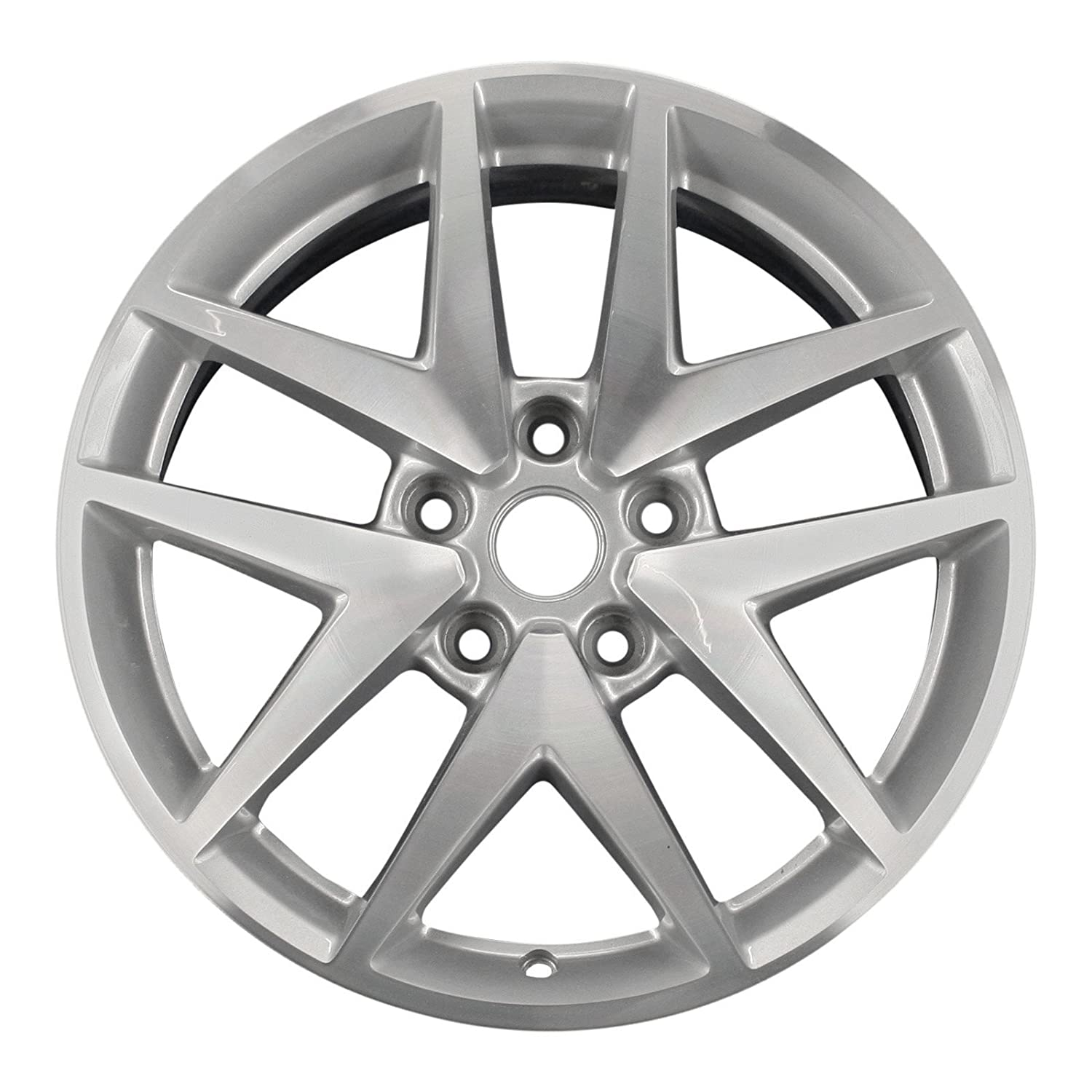 """Amazon.com: New 17"""" Replacement Rim for Ford Fusion 2010-2012 Wheel 3797:  Automotive"""