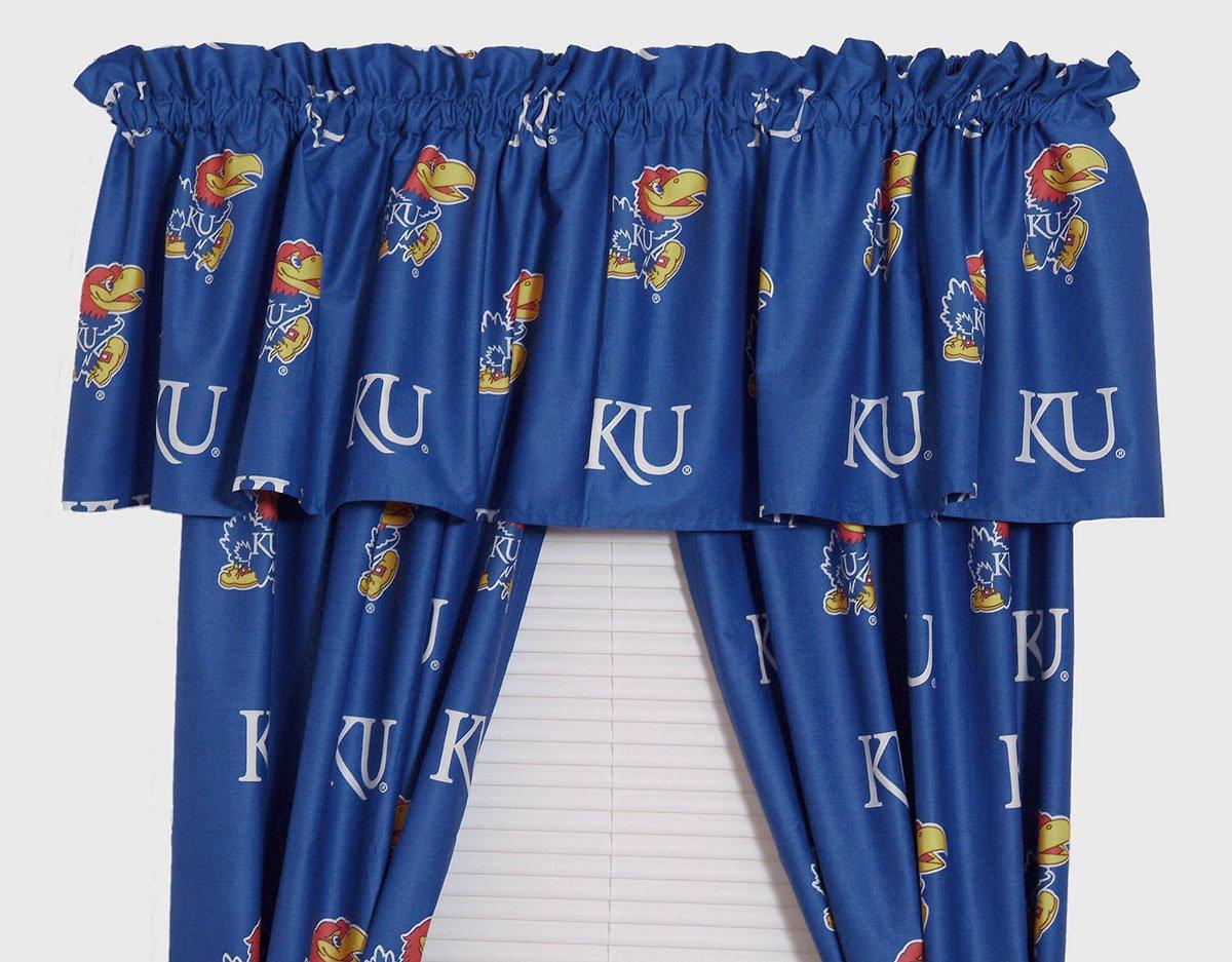 College Covers Kansas Printed Curtain Valance