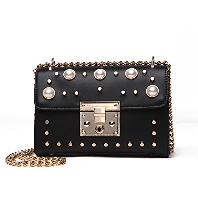 e446a13280 Melissa Wilde New Fashion Luxury Handbags Women Bags Designer Rivet  Messenger Bags Laides Shoulder Bag Bolsa
