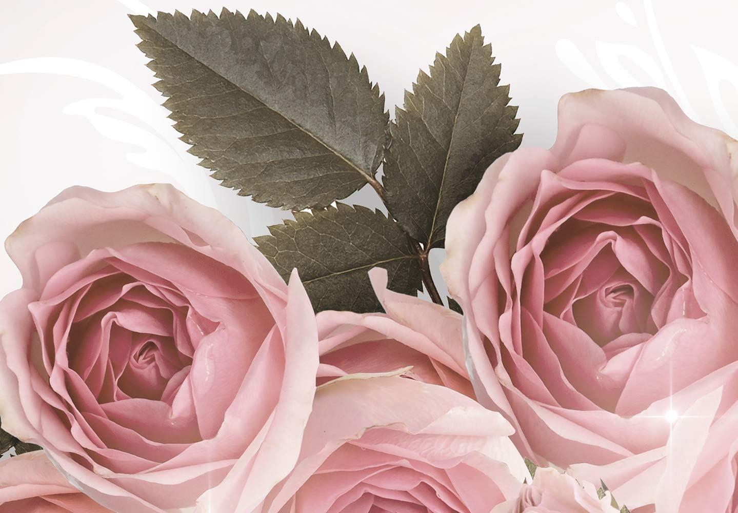murando Impression sur Toile intissee Fleurs 90x60 cm 1 Piece Tableau Tableaux Decoration Murale Photo Image Artistique Photographie Graphique Fleurs Tulipe Rouge b-A-0349-b-a