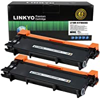 LINKYO Compatible Toner Cartridge Replacement for Brother TN660 TN630 (2-Pack, High Yield, Design V3)