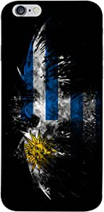 ColorKing Football Uruguay 02 Black shell case cover for Apple iphone 6 Plus / 6s Plus