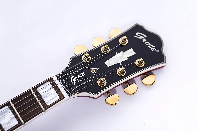 2019 Grote 335 - Guitarra eléctrica estilo jazz con parte superior ...