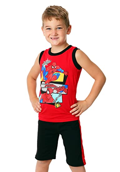 d859e0b5b Amazon.com: Toddler Spider-Man Web Head 3 Piece Set: Clothing